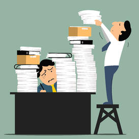 declutter paper documents