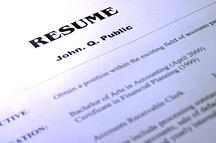 Managing Resumes Image